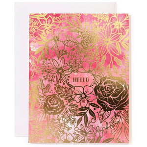 Greeting Card - Hello