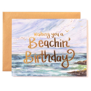 Greeting Card -Beachin Birthday