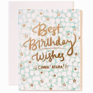Greeting Card - Best Birthday Wishes