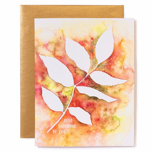 Greeting Card - Just Thinking of You