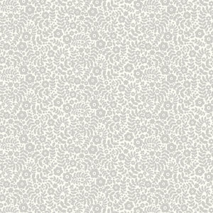 Liberty of London Tea for Two Grey Daisy Dance fabric