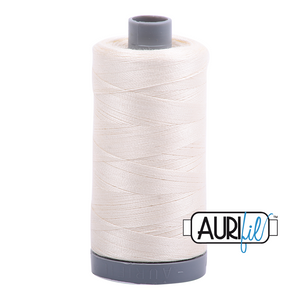 Aurifil 28wt Thread - Chalk 2026