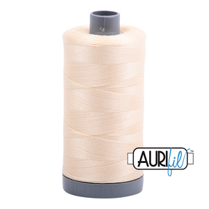 Aurifil 28wt Thread - Butter 2123