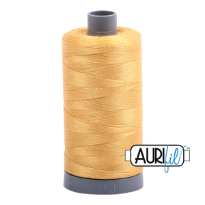 Aurifil 28wt Thread - Spun Gold 2134