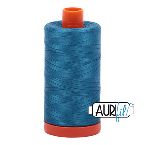 Aurifil 50wt Thread - Medium Teal 1125