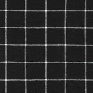Essex Yarn Dyed Classic Woven Black
