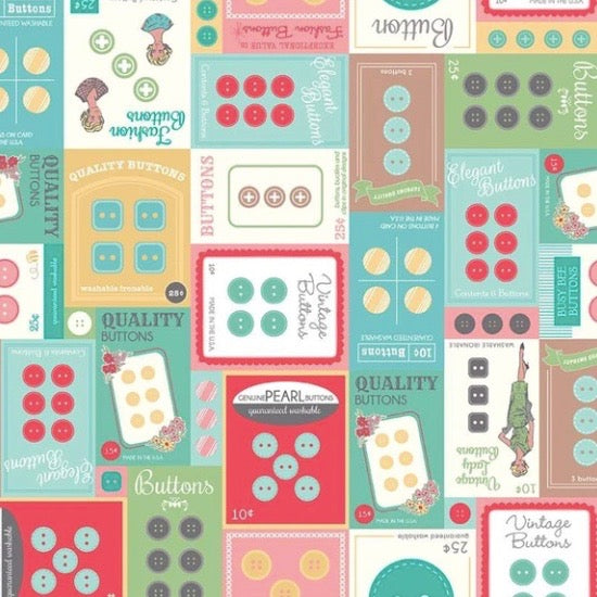 My Happy Place Home Dec Button Cards