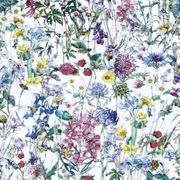 Liberty London Tana Lawn Wild Flowers White