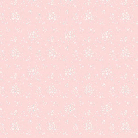 Bunnies & Blossoms Pink Floral