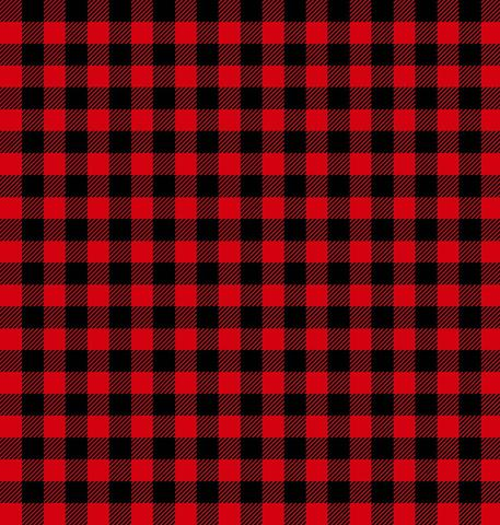 Purely Canadian Eh - Red Checks Quilting Cotton by Robert Kaufman