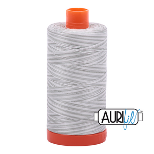 Aurifil 50wt Thread - Variegated Silver Moon 4060