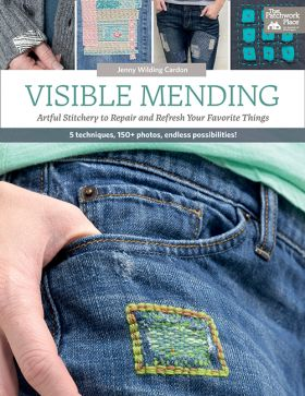 Visible Mending by Jenny Wildling Cardon