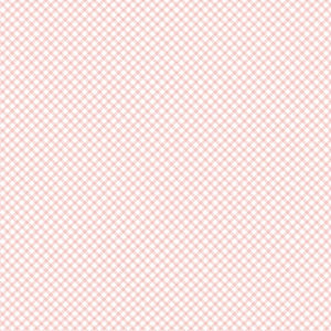 Bunnies & Cream Pink Gingham fabric