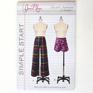 Simple Start - Starlet Trousers & Shorts Pattern