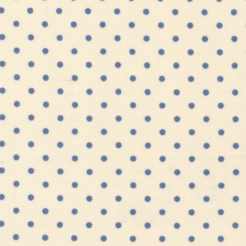 Durham Quilt Collection 2019 Dots on Cream
