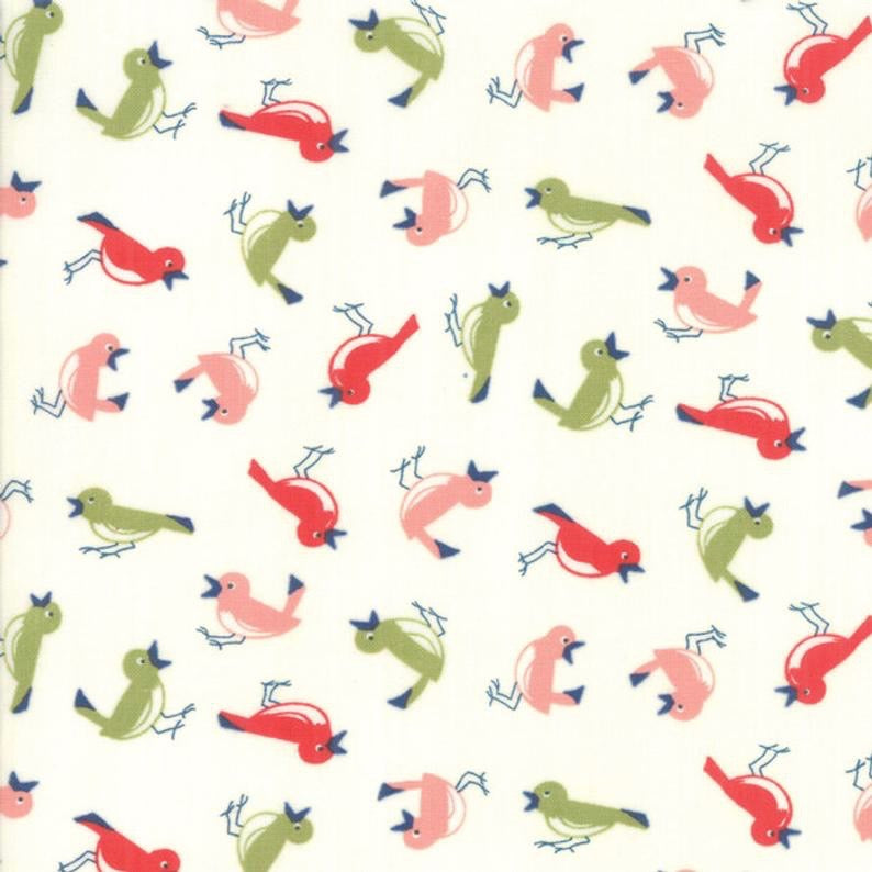Early Bird Vintage Birds