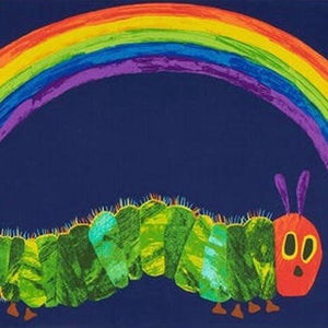 The Very Hungry Caterpillar Rainbow Panel