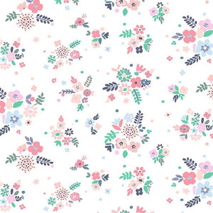 No Probllama Floral fabric by Dear Stella
