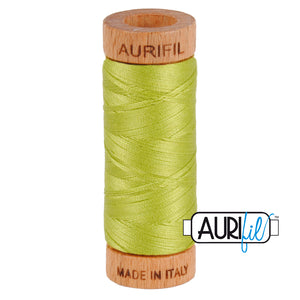 Aurifil  80 wt cotton 1231 Spring Green