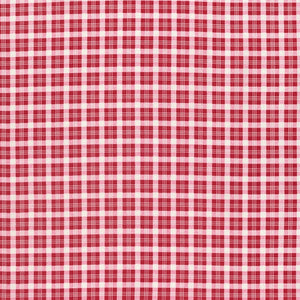 Peppermint Rose Christmas Plaid
