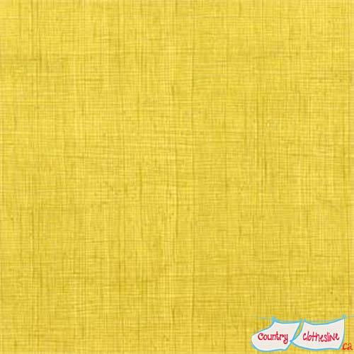Quilt Fabric - Alexander Henry Heath Yellow