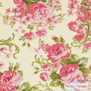 Quilt Fabric - Cabbage Rose