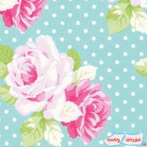Quilt Fabric - Dottie Rose Jade