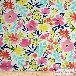 Quilt Fabric - Good Karma Possibility Natural