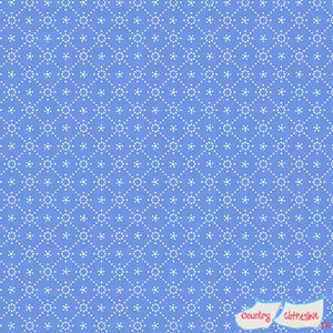 Quilt Fabric - Holly Hobbie Blue Diamond