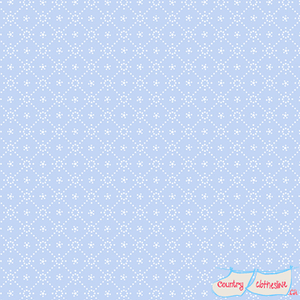 Quilt Fabric - Holly Hobbie Light Blue Diamond