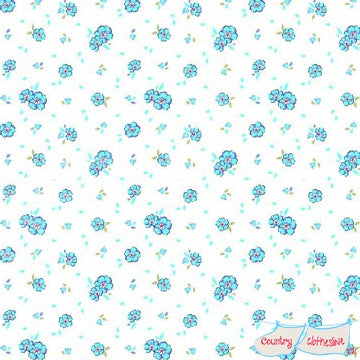 Quilt Fabric - Holly Hobbie Little Flowers