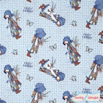 Quilt Fabric - Holly Hobbie Paisley