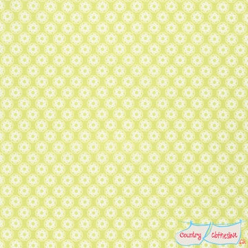 Quilt Fabric - Lola Little Flowers Yellow