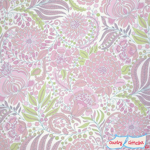 Quilt Fabric - Pagoda Flower