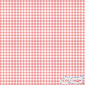 Quilt Fabric - Pink Gingham