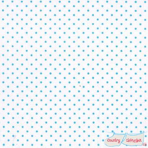 Quilt Fabric - Small Blue Dots