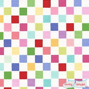Quilt Fabric - Sunrise Studio Multi Checks