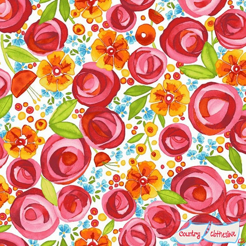 Quilt Fabric - Wild By Nature Floral