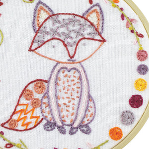 Roxy petit renard Embroidery Kit