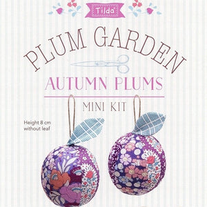 Tilda Plum Garden Autumn Plums Mini Kit