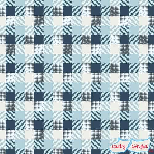 Mad Plaid Summer Skies fabric by Art Gallery