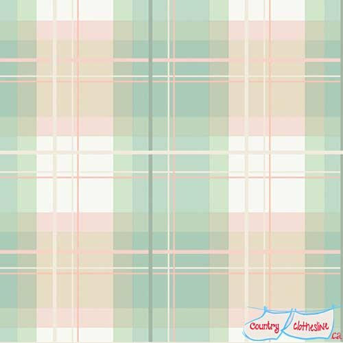 Mad Plaid Afternoon Tea fabric by Art Gallery