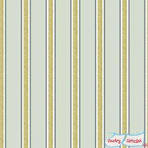 Morris & Co Kelmscott Gilt Stripe Aqua