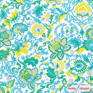 Sunny Isle Claire in Sky fabric by Jennifer Paganelli for Freespirit