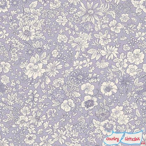 Liberty of London Emily Silhouette Lavender Lasenby Cotton