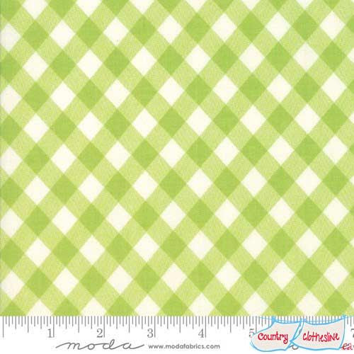 Bonnie & Camille Basics Vintage Picnic Gingham Green