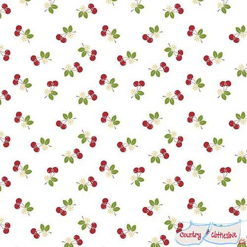 Sew Cherry 2 Red Cherries by Lori Holt for Riley Blake