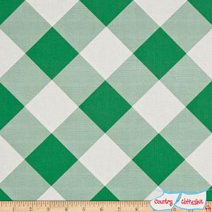 Modernist Pure Plaid Emerald