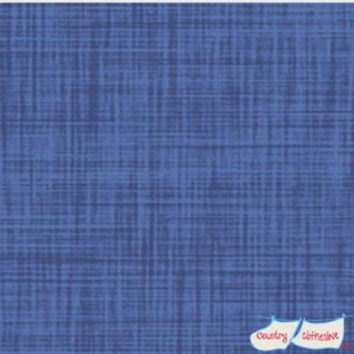 Color Weave Blue Fabric by P&B Textiles