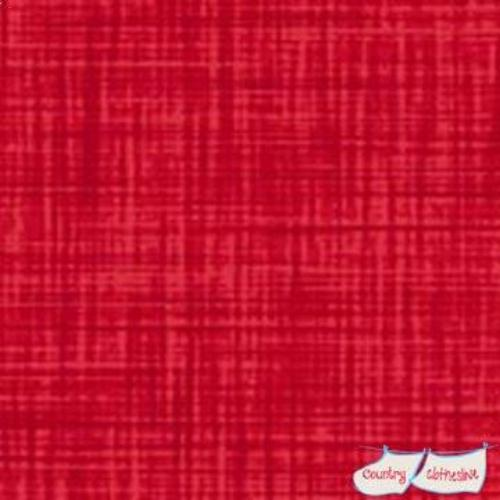 Color Weave Red Fabric by P&B Textiles